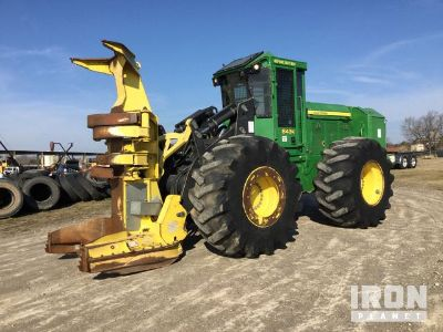 2011 John Deere 843K Wheel Feller Buncher