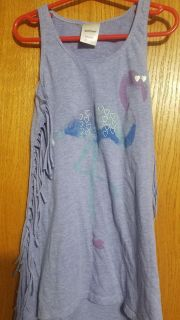 6-6X Fringed Top