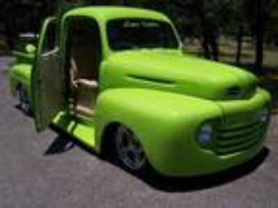 1950 Ford F1 Lime Green 302