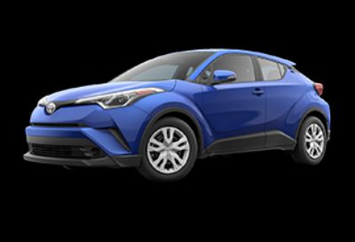 2019 Toyota C-HR LE (Blue Eclipse Metallic)