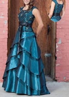 $240 OBO Princess lace-up Prom Dress Size 8-10