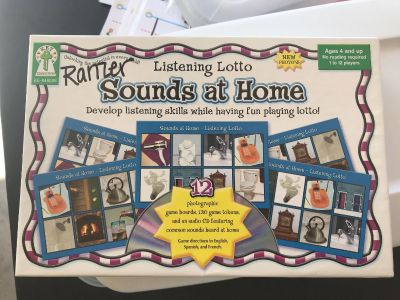 Sound at home CD game