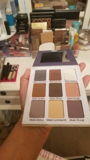 Brand new(only swatched a few colors) eyeshadow palette. Paid $40
