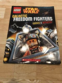 LEGO Star Wars Galactic Freedom Fighters Comic And Activities Excellent Cond. Smoke Free