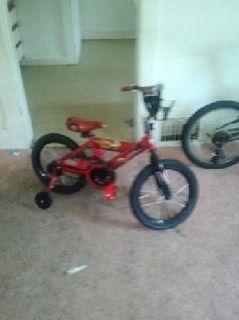 $50 OBO 16 inch cars bike