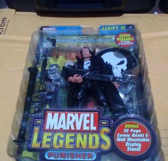 Marvel Legends toybiz Punisher