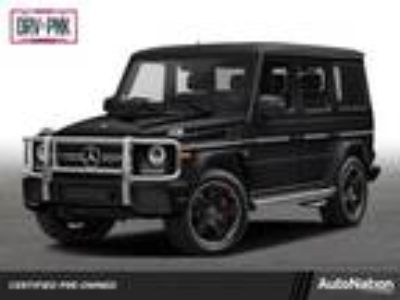 Used 2016 Mercedes-Benz G-Class Black, 17.1K miles