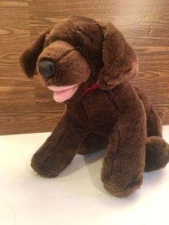 Build A Bear Doggy he Barks when you press his hand! Great Condition!