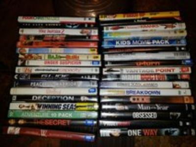 Assortment of 34 movies