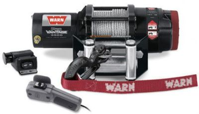 Sell Warn ATV ProVantage 3500 Winch w/Mount CanAm 2012-2016 Renegade 1000G2 motorcycle in Northern Cambria, Pennsylvania, United States, for US $479.00