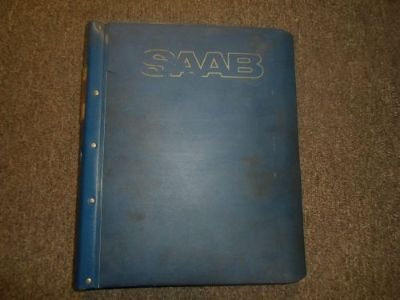 Purchase 1979 80 82 84 1986 Saab 900 Front Assembly Brakes Trans Service Manual FACTORY motorcycle in Sterling Heights, Michigan, United States