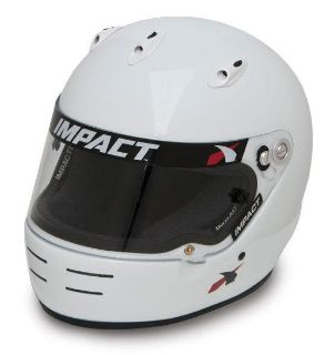 Sell IMPACT RACING 17199309 SS HELMET SMALL WHITE SA2010 motorcycle in Moline, Illinois, US, for US $399.99