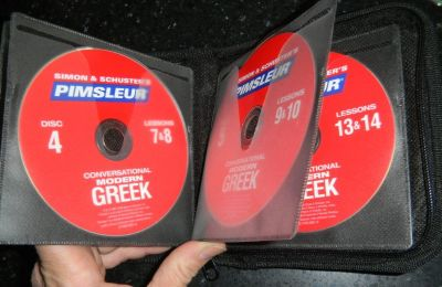 Pimsleur Conversational Modern Greek Language Course CD's With Case