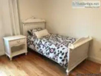 Girl -piece white wooden furniture bedroom set tween bed