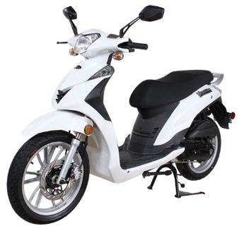 2018 Genuine Scooters Venture 50 250 - 500cc Scooters Sturgeon Bay, WI