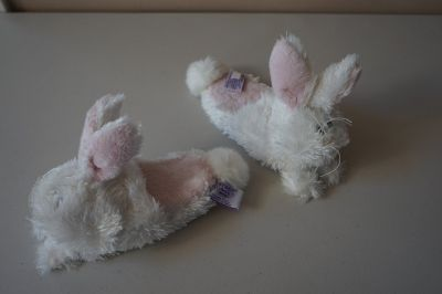 Girls Heritage Collection by Ganz Bunny Slippers for 3 yrs and under