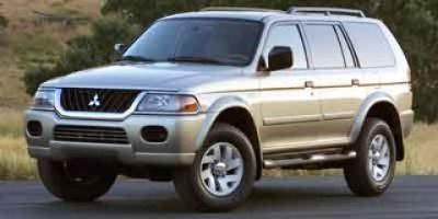 2003 Mitsubishi Montero Sport ES (Memphis Blue Pearl)