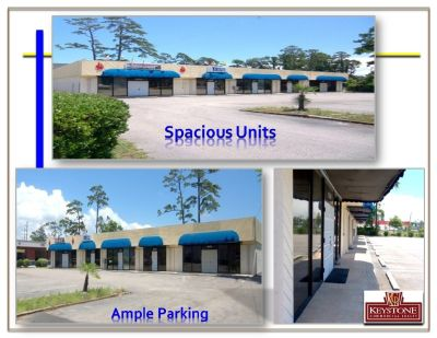 3rd Avenue Plaza- Unit #1252-1,200 SF-Office for Lease-Myrtle Beach-Keystone Commercial Realty