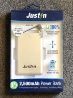 Justin Android Portable Power Bank