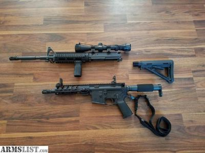For Trade: Ar15 rifle/pistol