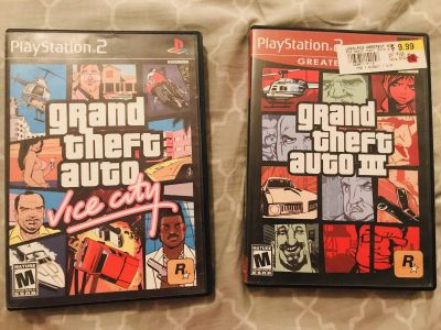 Grand Theft Auto for PS2