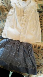 Gymboree girl outfit, size 7