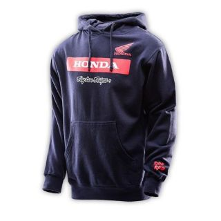 Buy Troy Lee Designs 2016 Honda Wing Block Mens Pullover Hoodie Navy Blue/Red motorcycle in Holland, Michigan, United States, for US $59.00