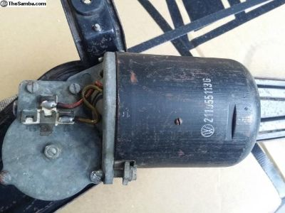 1967 bus working wiper assembly. Free shipping