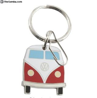 VW Split Screen Bus Keychain