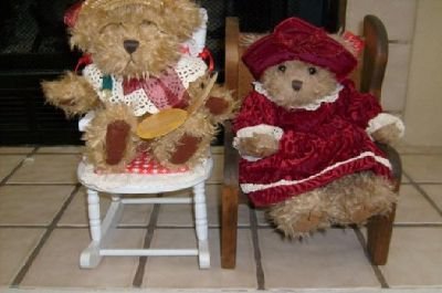 $25 Rosie the Bear by Pickford Bears Ltd and Alexandra by Russ Berry