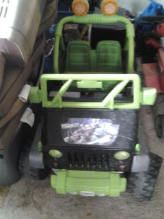Teenage mutant ninja turtles Jeep