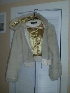 $20 Sexy winter coat baby phat size L, hardly worn, like new