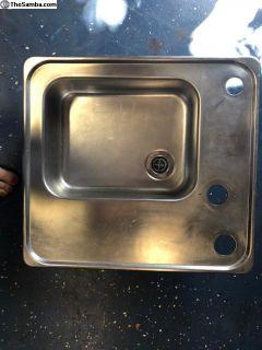 Vw Westfalia Stainless sink insert