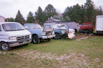 2 dodge ram truck 600.00 each