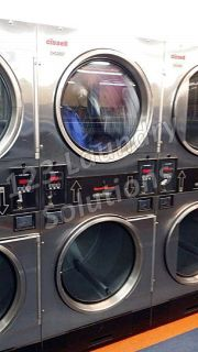 Good Condition Cissell Stainless Steel Double Stack Dryer CTT30N3VB2​G1N01 Used
