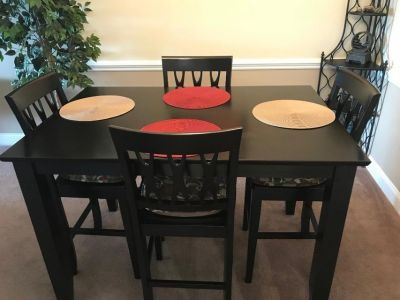 Table 6 Chairs, Removable Lazy Susan, Extention