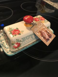 Pioneer Woman Butter Dish