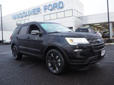 2019 Ford Explorer (black)