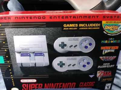 Brand new SNES classic....2 Available....$80 EACH