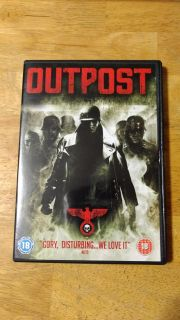 Outpost DVD.. ONLY works on United Kingdom dvd player. Asking $1.00