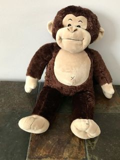Build a Bear Magnificent Monkey with monkey sounds. Press wrist for sounds. 18 Height