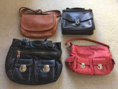 Coach and Marc jacobs purses
