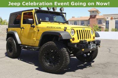 2008 Jeep Wrangler Rubicon (Detonator Yellow)