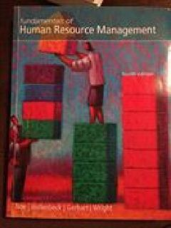 $30 OBO Human Resource Managment fourth edition