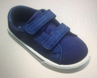 Toddler boys Velcro canvas sneakers NEW