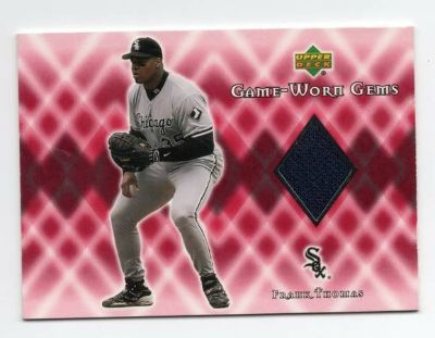 CHICAGO WHITE SOX FRANK THOMAS JERSEY CARD