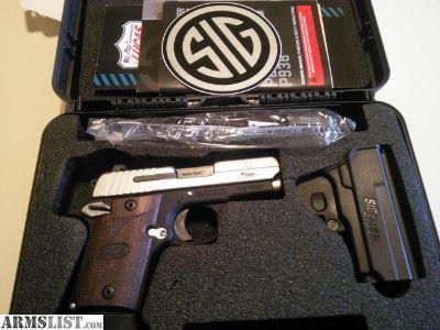 For Sale: Like New Sig Sauer P938 SAS 9mm