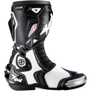 Sell Spidi XP5-S Vented Mens Racing Boots White/Black 11.5 motorcycle in Holland, Michigan, United States, for US $329.95