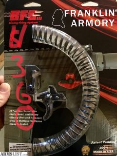 For Sale: Franklin Armory BFS3