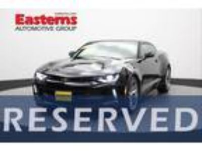 Used 2018 Chevrolet Camaro Black, 35.2K miles